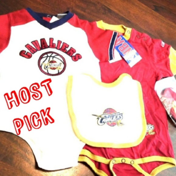 Cleveland Cavaliers Onesie Bundle 12 and 24 Month. NWT. NBA 60f1e1e14